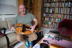 Quentin Budworth Teaching Hurdy-gurdy